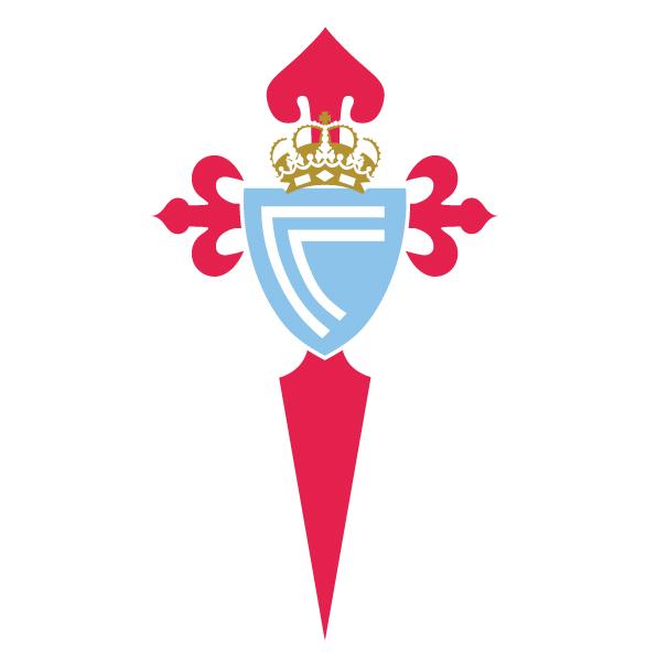 维戈塞尔塔队队徽标志LOGO矢量图下载Real Club Celta de Vigo