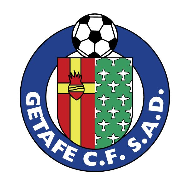 西甲赫塔菲队队徽标志LOGO矢量图下载Getafe