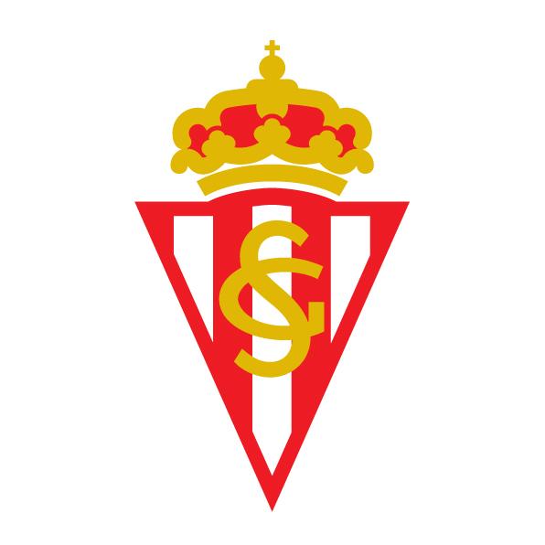 希洪竞技队队徽标志LOGO矢量图下载Real Sporting de Gijón