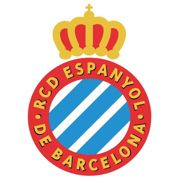 西班牙人队队徽标志LOGO矢量图下载Real Club Deportivo Español
